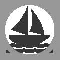 Yacht icon - boating