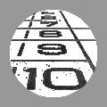 Running track icon - athletics track