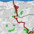 Green Chain Section 5 route map thumbnail