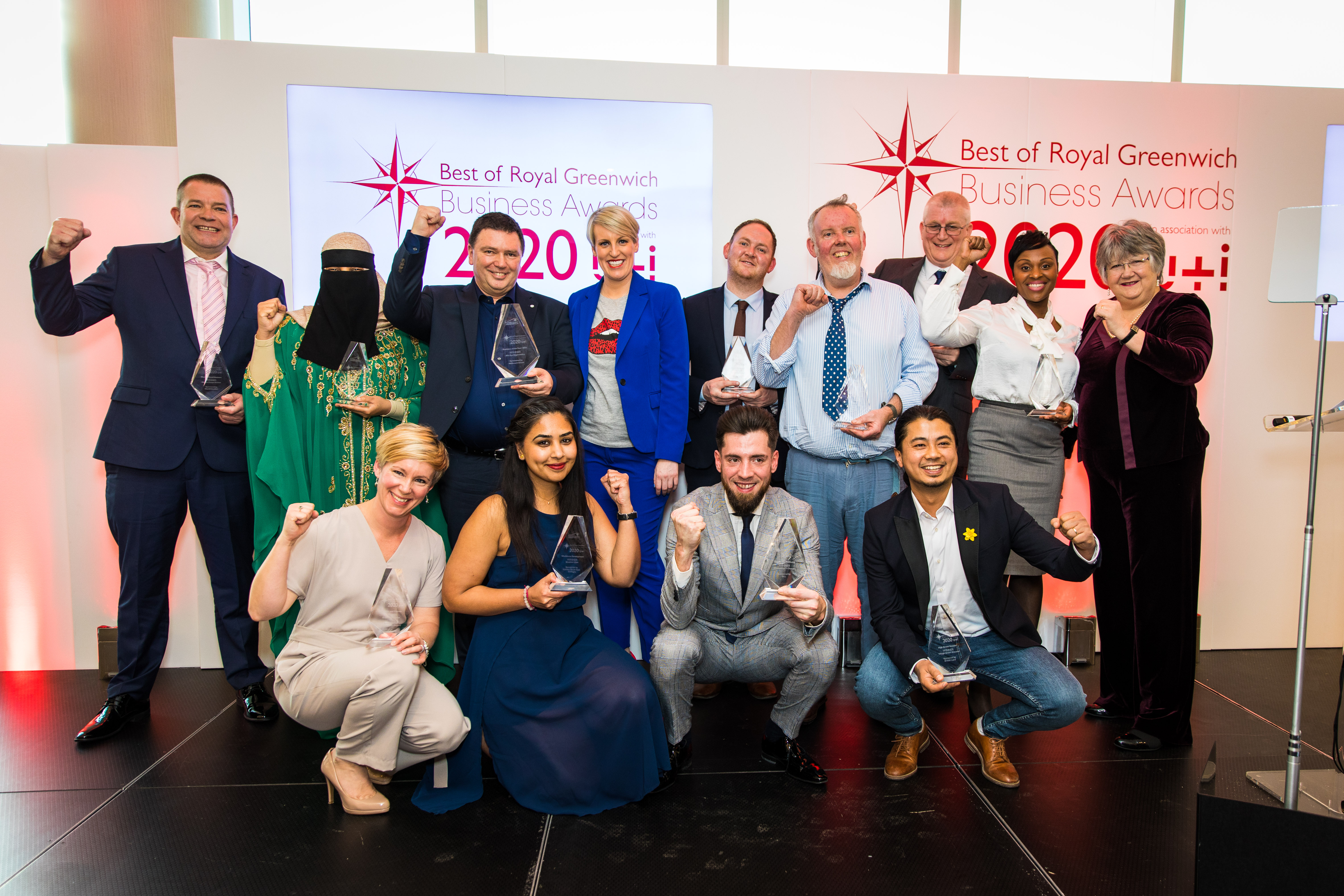 Winners of Best of Royal Greenwich Business Awards 2020