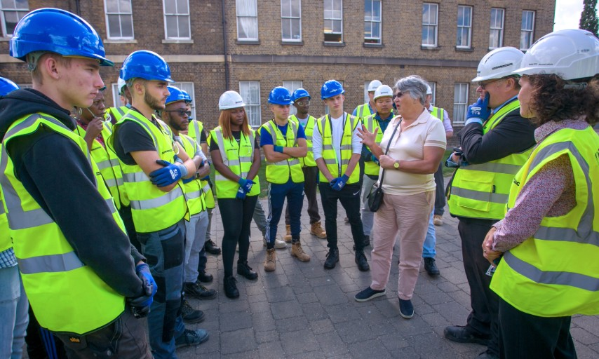 Twenty-seven potential apprentices visited Woolwich Works