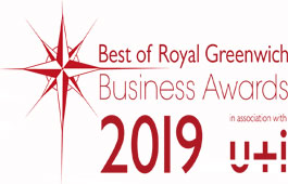 Best of Royal Greenwich Business Awards in association with U+I logo