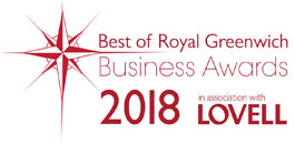 Best of Royal Greenwich Business Awards 2018 in association with Lovell logo