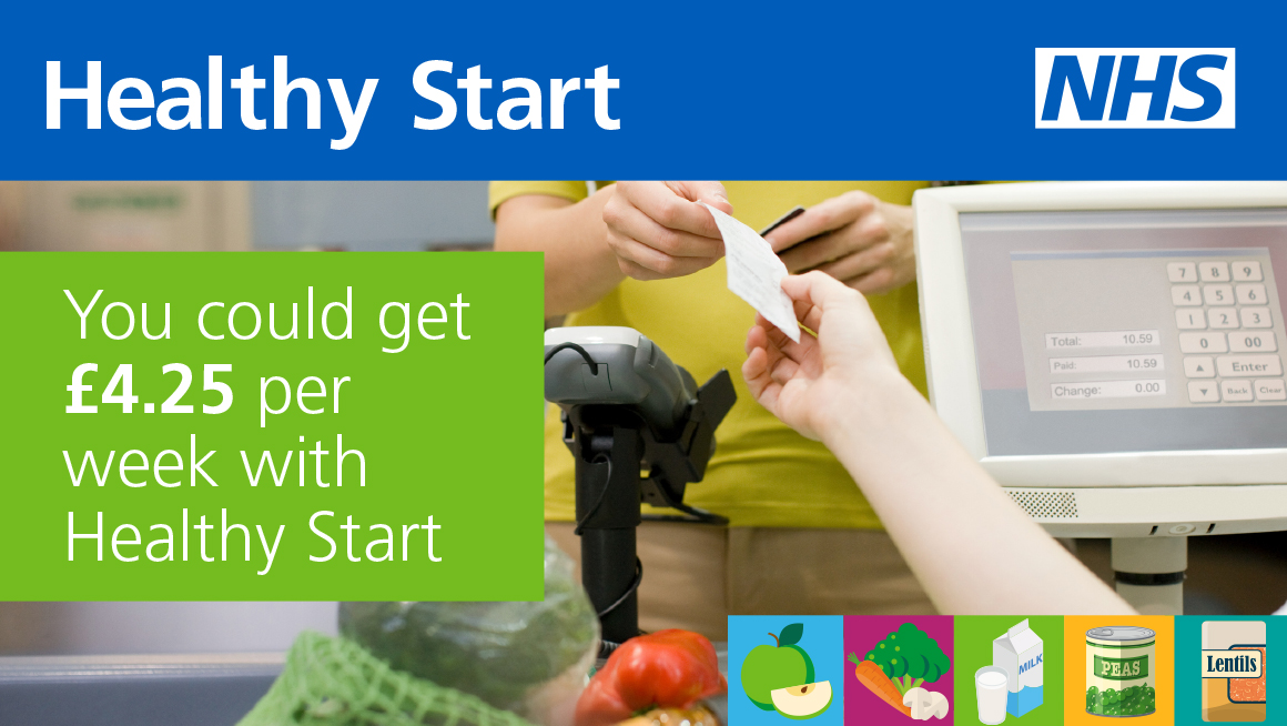 £4.25 will soon be available per week with Healthy Start