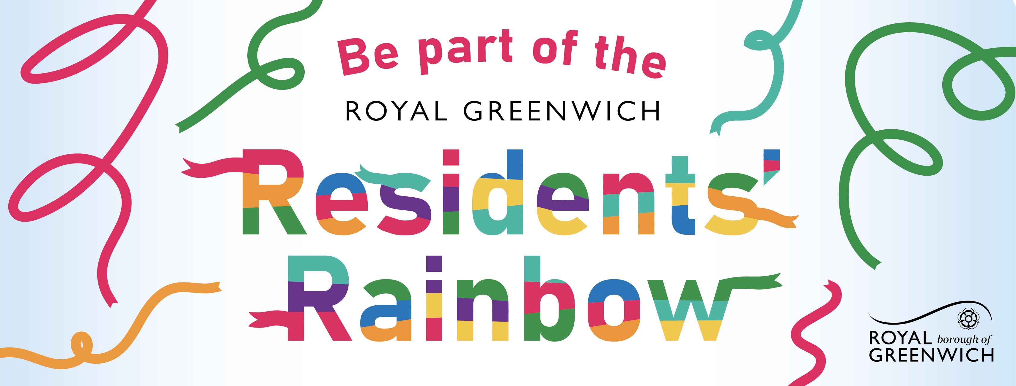 Be part of The Royal Greenwich Residents' Rainbow