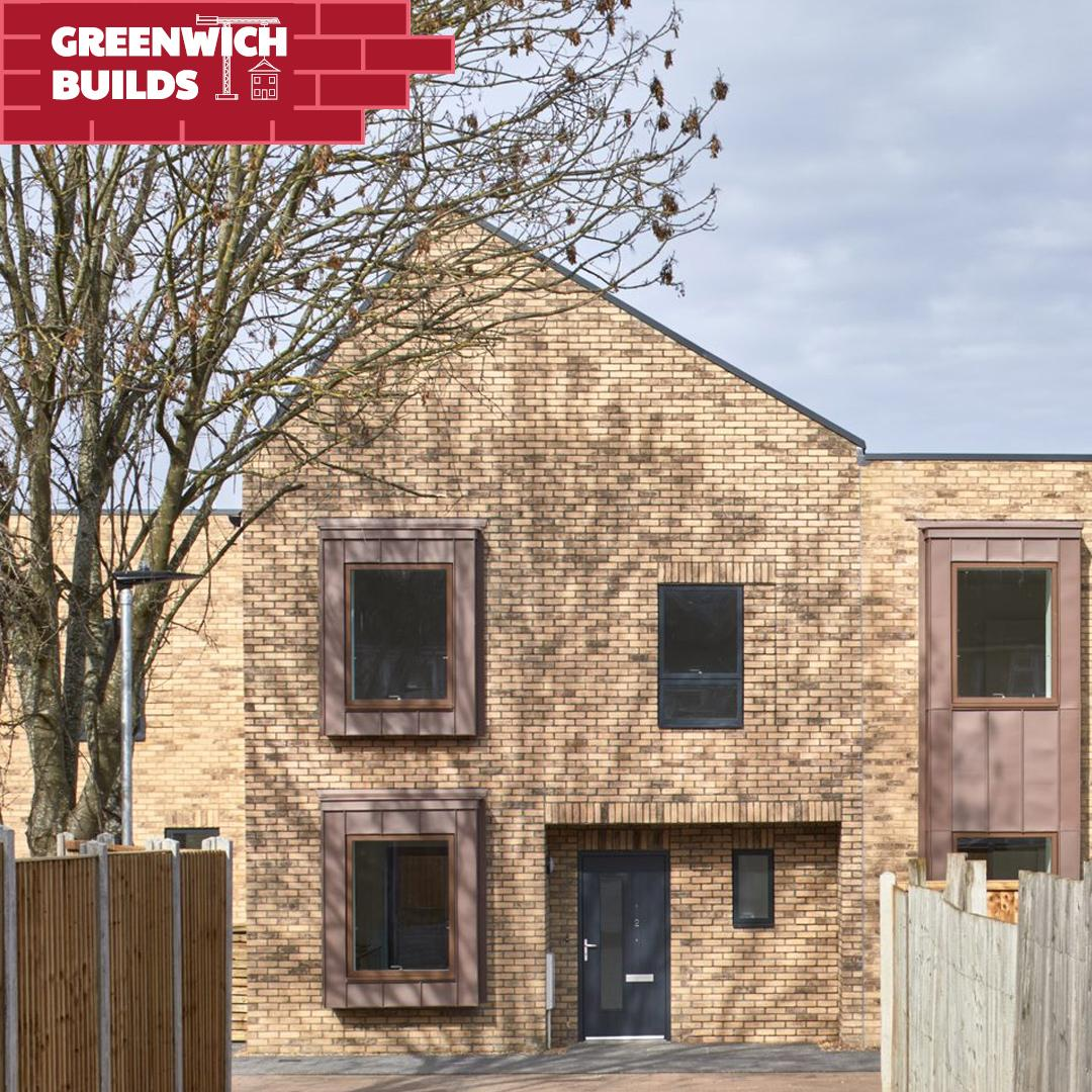 An image showing one of the new Greenwich Builds homes at The Underwood in New Eltham