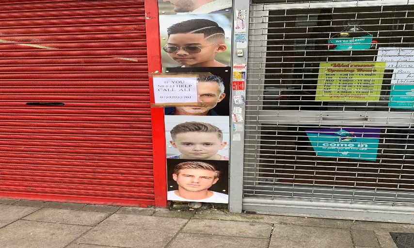 Barber shop in Plumstead