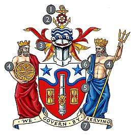 The Royal Greenwich coat of arms